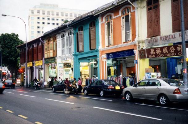 Arab Street in modern style - Singapore.