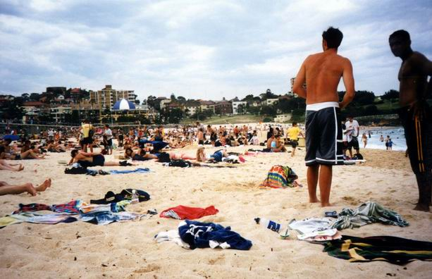 Famous Bondi Beach messiness...