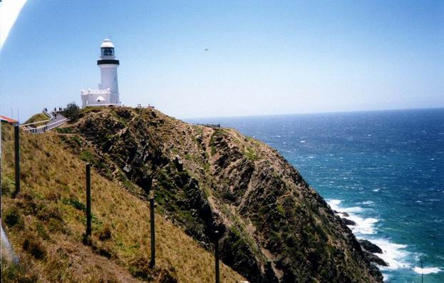 Lighthouse at Byron Bay.