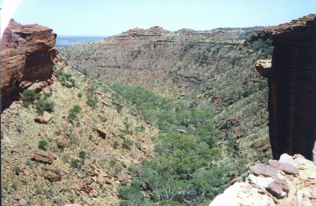 King's Canyon - the centre of the desert.