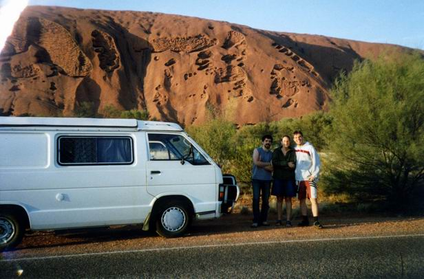 Uluru / Ayers Rock s Lady B.